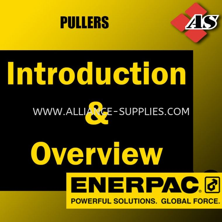 Introduction & Overview 10.06 ENERPAC Pullers 10.ENERPAC