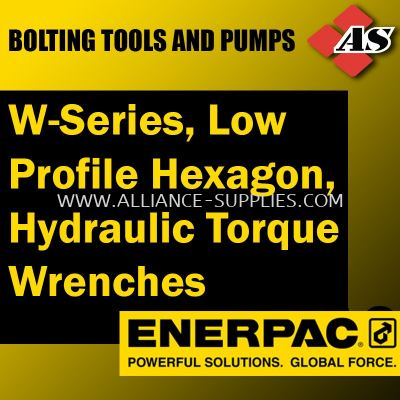 W-Series, Low Profile Hexagon, Hydraulic Torque Wrenches