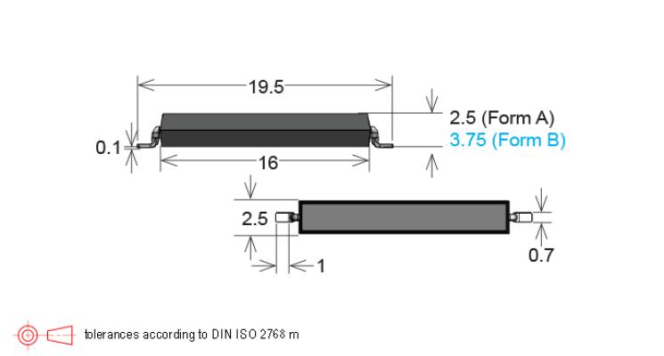 Standex MK15 Series Reed Sensor