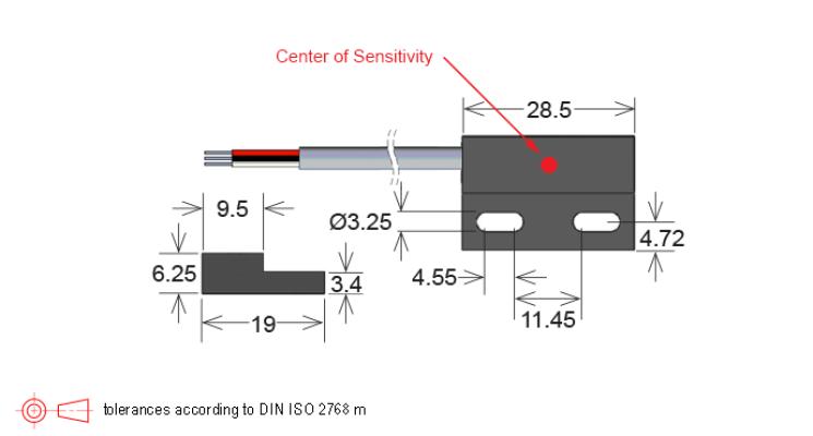 Standex MH21 Series Hall Effect Sensor