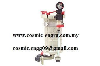 Chemical Filter Housing equivalent to Sanshin Filter Housing, Nihon Filter Housing