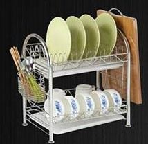 ADX 2020 2 Layer Stainless Steel Dish Rack