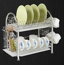 ADX 2030 2 Layer Stainless Steel Dish Rack