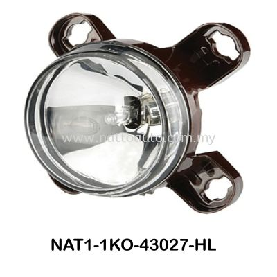 HELLA Headlamp High Beam 1KO 247 043-027