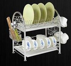 ADX 2040 2 Layer Stainless Steel Dish Rack