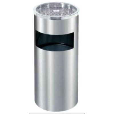 Felice FRB NS003 Stainless Steel Round Ashtray Dustbin Stand (SUS 304)