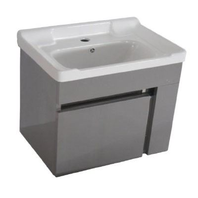 Rocconi RG 5037A105 Ceramic Basin With Stainless Steel Cabinet