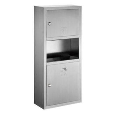Felice FC 075DA01 Stainless Steel Two-in-a With Garbage Cans Wiping Hands Carton Box Rack