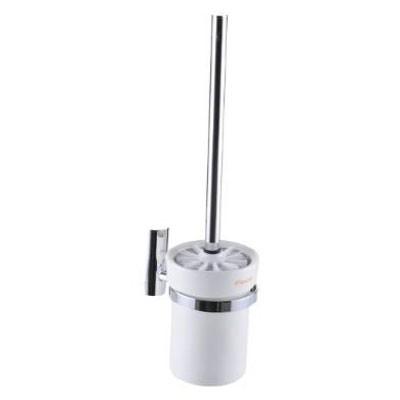 Felice FLS 83988 Toilet Brush Holder c/w Ceramic Glass