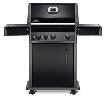 Napoleon Rogue® R425SB (Full Black) with Range Side Burner Gas BBQ Grill
