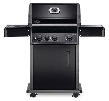 Napoleon Rogue® R425SBP (Full Black) with Range Side Burner Gas BBQ Grill