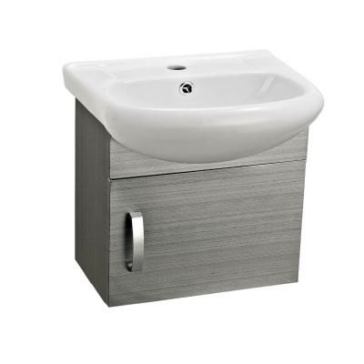 Rocconi RG 4437A602 Ceramic Basin With Stainless Steel Cabinet