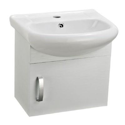 Rocconi RG 4437A603 Ceramic Basin With Stainless Steel Cabinet