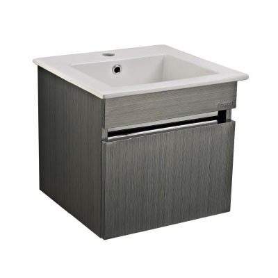 Rocconi RG 4141A101 Ceramic Basin With Stainless Steel Cabinet