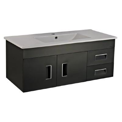 Rocconi RG 11546A110 Ceramic Basin With Stainless Steel Cabinet