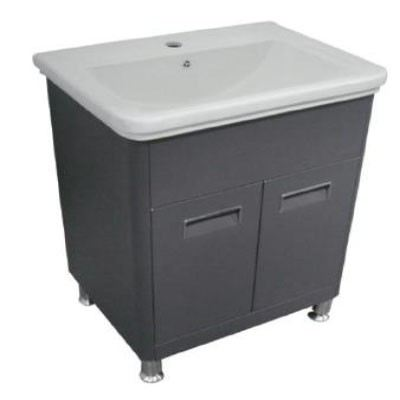 Rocconi RG 6347A119 Ceramic Basin With Stainless Steel Cabinet