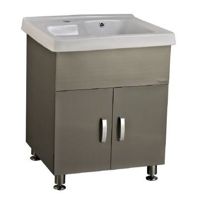 Rocconi RG 6054A109 Ceramic Basin With Stainless Steel Cabinet