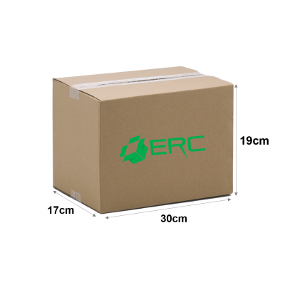 A056 - Small Size Carton Box (30cmLx17cmWx19cmH/Single-Wall)