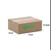 A060 - Medium Size Carton Box (31cmLx27cmWx11.5cmH/Single-Wall) Medium Size Carton Box Ready Made Boxes