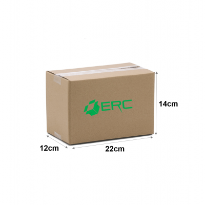 A053 - Small Size Carton Box (22cmLx12cmWx14cmH/Single-Wall)