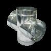 Spiral Duct - Tee Cross Spiral Duct (Spiro®)
