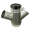 Spiral Duct - Lateral Cross Spiral Duct (Spiro®)
