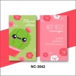 Flora Name Card - NC3042