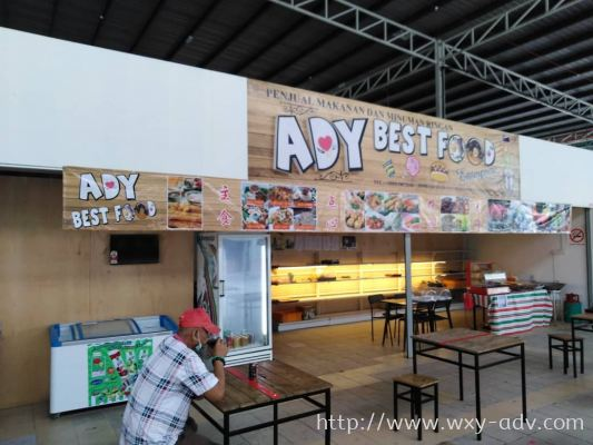 ADY BEST FOOD Banner