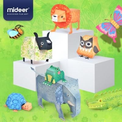 MD4082 Mideer Origami Paper Animal 10 pcs