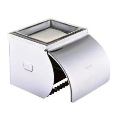 Rocconi RCN K12 Stainless Steel Paper Holder With Lid & Ashtray