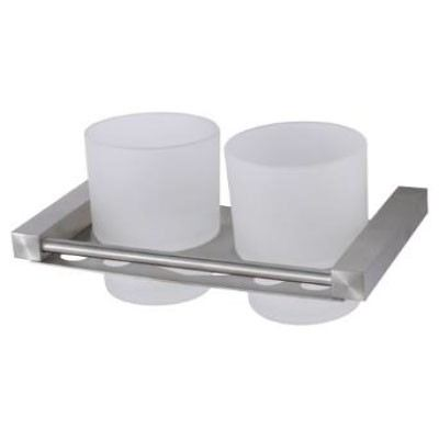 Rocconi RCN S4368 Double Tumbler Holder c/w Frosted Glass(matt)