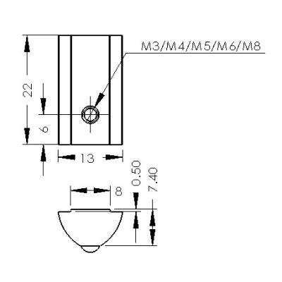 CP-HRN3-8/4040 | CP-HRN4-8/4040 | CP-HRN5-8/4040 | CP-HRN6-8/4040 | CP-HRN8-8/4040