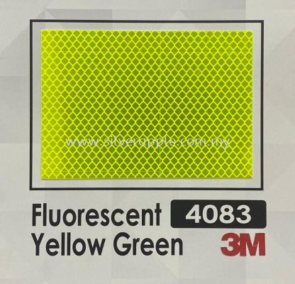 3M 4083 DG3 Fluorescent Yellow Green
