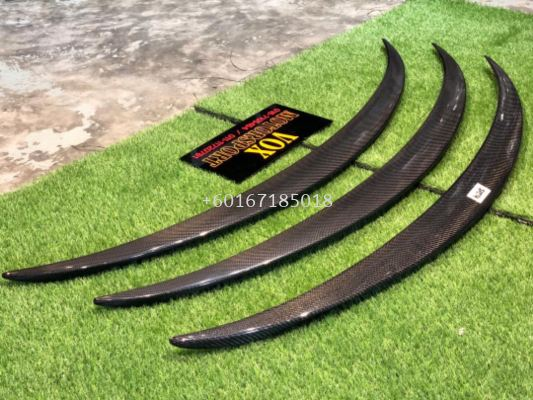 mercedes benz w205 spoiler amg style for w205 add on upgrade performance look carbon fiber material new set