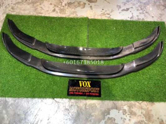 bmw f10 hamann front lip for f10 msport add on upgrade performance look carbon fiber material new set