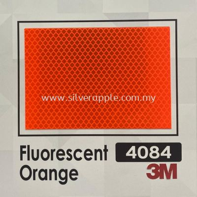 3M 4084 DG3 Fluorescent Orange