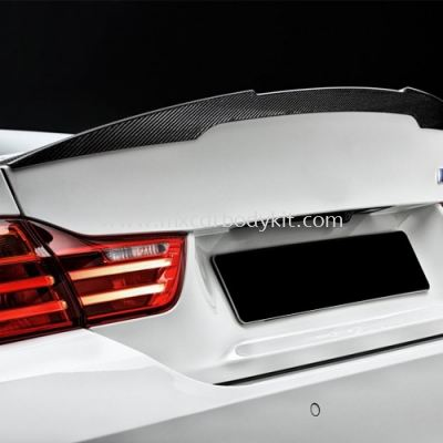 BMW 3 SERIES F80 M4 PERFORMANCE REAR TRUNK SPOILER