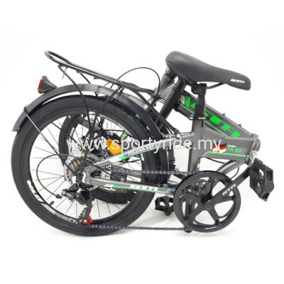 "20"" Folding Bike Alloy 7s GTA F07"