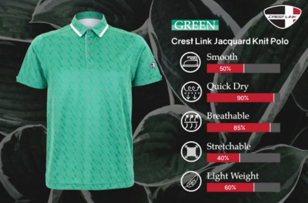 Crest Link Green Apparel