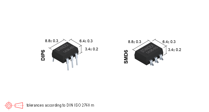 Standex SMP-36 Photo-MOSFET Relay