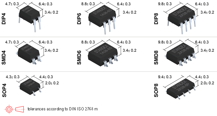Standex SMP-38 Photo-MOSFET Relay