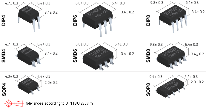 Standex SMP-74 Photo-MOSFET Relay