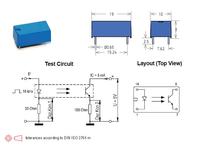 Standex 525 Series Optocouplers