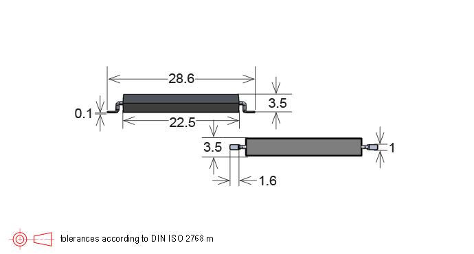 Standex MK30 Series Reed Sensor