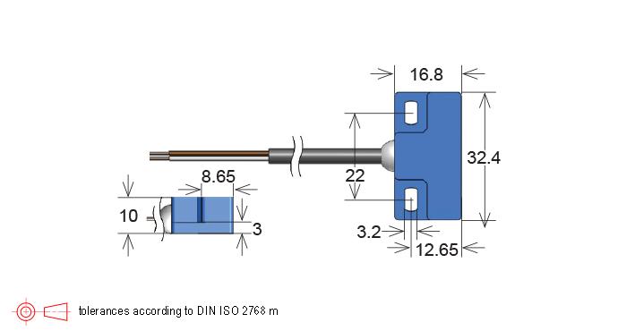 Standex MK02 Series Reed Sensor