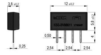 Standex MK10 Series Reed Sensor