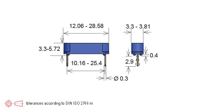 Standex MK06 Series Reed Sensor