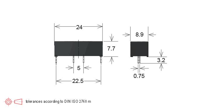 Standex MK02/6, MK02/7 Series Reed Sensor