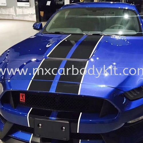 FORD MUSTANG GT350 LOOK FRONT HOOD MUSTANG FORD