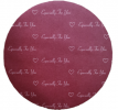 Round (Red) Cake board [Please Choose The Size] Packaging